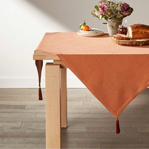 Crate & Barrel Tablecloth